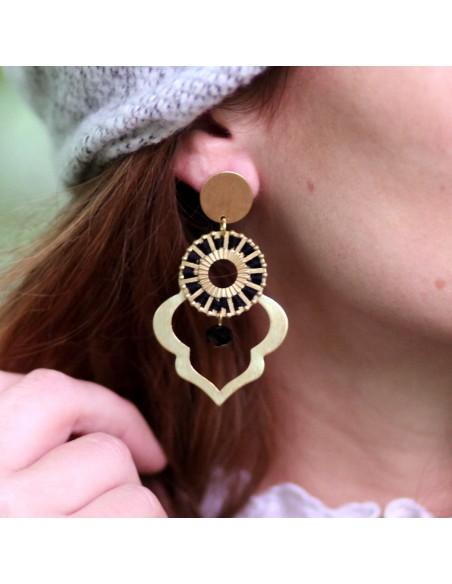 Boucles d'oreilles Palma - MdeB Créations - Comptoir Doré