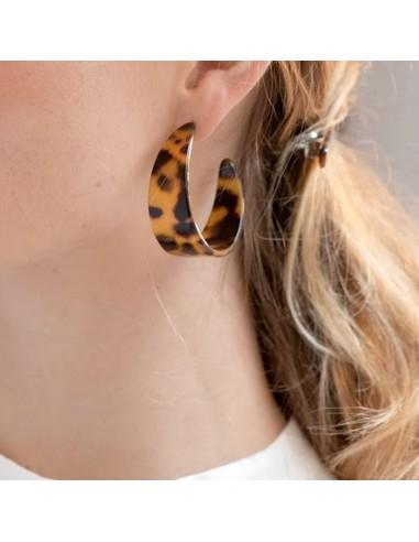 Boucles d'oreilles Pia - Séraphine Bijoux - Comptoir Doré