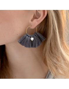 Boucles d'oreilles Palmyre - Séraphine Bijoux - Comptoir Doré
