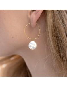 Boucles d'oreilles Fetia - Séraphine Bijoux - Comptoir Doré
