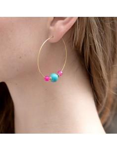 Boucles d'oreilles Feodora - Séraphine Bijoux - Comptoir Doré