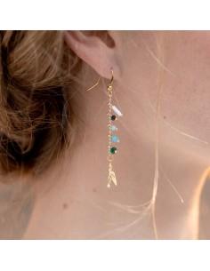 Boucles d'oreilles Zélie - Séraphine Bijoux - Comptoir Doré