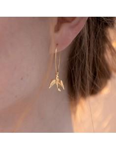 Boucles d'oreilles Euclyde - Séraphine Bijoux - Comptoir Doré