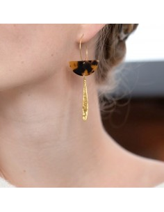 Boucles d'oreilles Iris - Séraphine Bijoux - Comptoir Doré