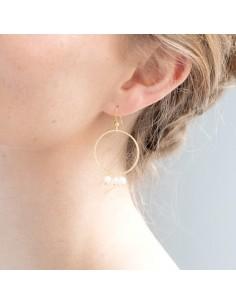 Boucles d'oreilles Douce