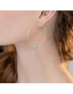 Boucles d'oreilles Milana - Séraphine Bijoux - Comptoir Doré