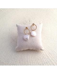 Boucles d'oreilles Jeriva Gold - Parabaya - Comptoir Doré