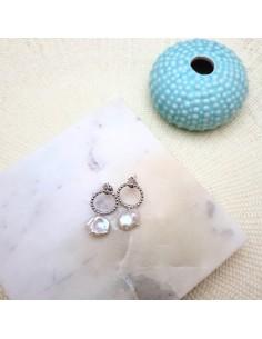 Boucles d'oreilles Jeriva Silver - Parabaya - Comptoir Doré