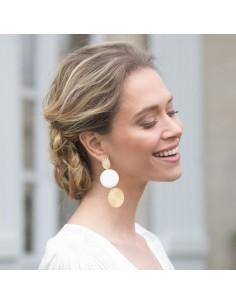 Boucles d'oreilles Cyrène - Mathilde Forget - Comptoir Doré
