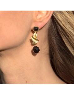 Boucles d'oreilles Droséra - Mathilde Forget - Comptoir Doré