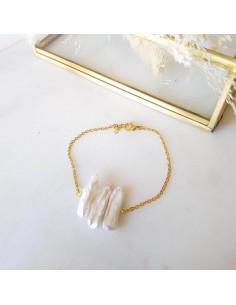 Bracelet Shira Blanc