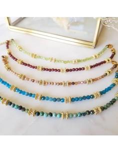 Bracelet Paola pierres fines - Ginandger - Comptoir Doré