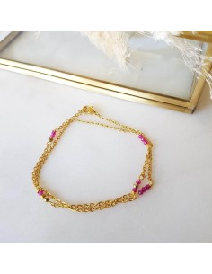 Bracelet Masha Rose (Rubellite)
