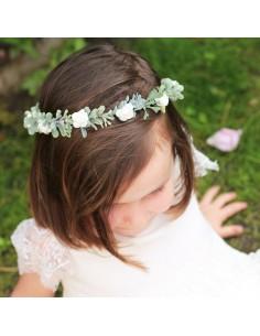 Couronne de fleurs enfant Philippa - Comptoir Doré