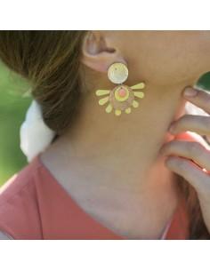 Boucles d'oreilles Manosque - Mathilde Forget - Comptoir Doré