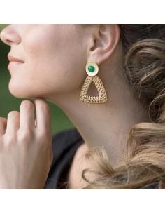 Boucles d'oreilles Vénasque - Mathilde Forget - Comptoir Doré