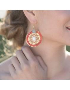 Boucles d'oreilles Angèle - Mathilde Forget - Comptoir Doré
