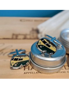 Boutons de manchette Mini Van - Comptoir Doré