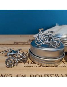 Boutons de manchette Vélo - Comptoir Doré