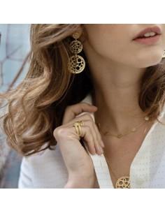 Boucles d'oreilles Demeter - Collection Constance - Comptoir Doré