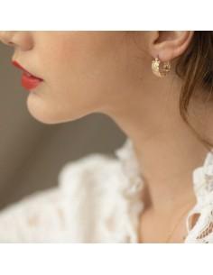 Boucles d'oreilles Chloris - Collection Constance - Comptoir Doré