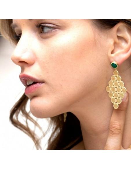 Boucles d'oreilles Maia - Collection Constance - Comptoir Doré