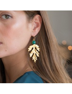 Boucles d'oreilles Arès - Collection Constance - Comptoir Doré
