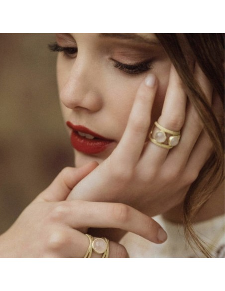 Bague Aphrodite - Collection Constance - Comptoir Doré