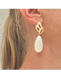 Boucles d'oreilles Ode - MdeB Créations - Comptoir Doré