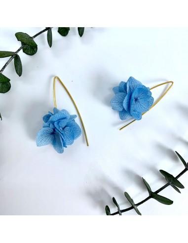 Boucles d'oreilles Agatha - BFlower - Comptoir Doré