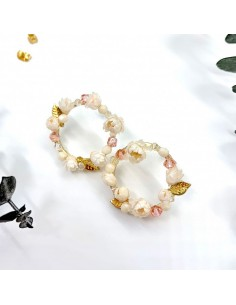 Boucles d'oreilles Gaïa - BFlower - Comptoir Doré